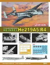 Dragon 5041 - 1/72 WWII Dt. Heinkel He 219A-5/R4 - New