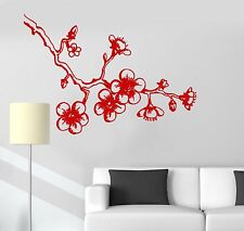 Vinyl Wall Decal Sakura Cherry Japanese Decor Asian Stickers (509ig)