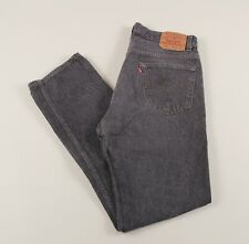 Vintage LEVI'S 501 Grey Regular Straight Men's Jeans 34W 32L 34/32 /J42021