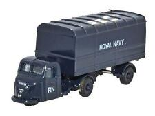 Oxford Diecast NRAB010 Scammell Scarab Van & Trailer Royal Navy 1 148