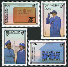 Gambia 589-592, MI 600-603, MNH. Girl Guides, 75th anniv. Lady Baden-Powell,1985