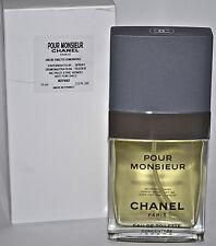 Chanel Pour Monsieur Concentree Eau De Toilette 2.5oz 75ml EDT TT W/Cap Box