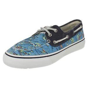 Sperry Bahama STS10643 Mens Deck Shoes Hawaii Blue  (R43B) Jen