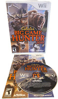 Cabela's Big Hunter Game 2010 W Manual Nintendo Wii Game