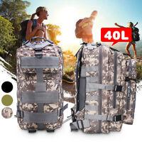 Military Rucksacks Waterproof Outdoor Sports Camping Tactical Nylon 30L/40L 1
