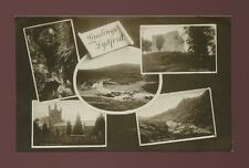 Devon LYDFORD Greetings from M/view RP PPC Used 1929 PUC 1d adhesive
