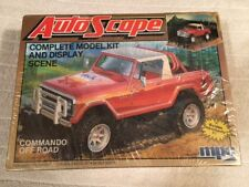 MPC 1-0912 AutoScape Complete Model Kit and Display Scene  1/25 Scale