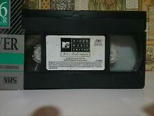 Mtv Video Music Awards Select Performances VHS No box Case Only Live music