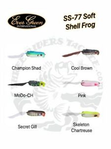 Evergreen SS-77 Soft Shell Hollow Body Frog - Choose Color