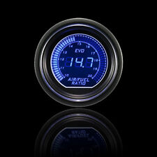 "Blue Red 2"" 52mm Air Fuel Ratio Car Motor Digital LED Light Gauge Meter"
