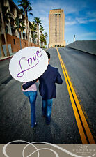 Love Parasol Umbrella Wedding Accessory Decoration Engagement Photography Prop