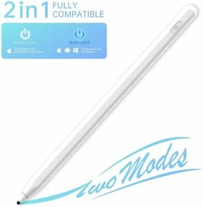Stylus Pen for Apple iPad Tablet iPhone 11 Pro Max 2 in1 Capacitive Touch Pencil