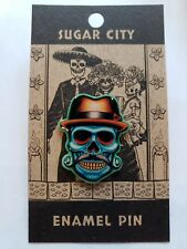 de Muertos Halloween Enamel Lapel Pin #9B Sugar City's Day of the Dead Dia