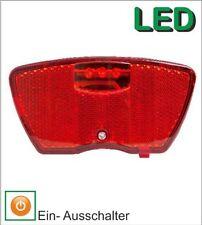 Rücklicht, Gepäckträgerbefestigung STARRY, LED, Batteriebetrieb NEU
