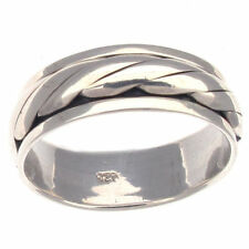 Precious Metal Fine Spinner Rings without Stones
