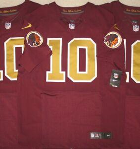 Washington Redskins ROBERT GRIFFIN ELITE Throwback Jersey 44 48 52 56 L XL 2X 3X