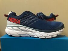 M Hoka One One Clifton 6 Ensign Blue 1102872 EBPA Running Shoe 100% Authentic