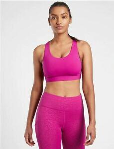 Athleta NWT Women's Ultimate Bra D-DD Size Med Color Magnolia Purple