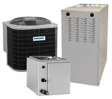 4 Ton 15 SEER 96%AFUE 120K BTU AirQuest by Carrier AC/Heat System
