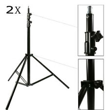 S301x2 300cm 10ft Spring-Cushioned Light Stand 3 Section Studio Stand heavy duty