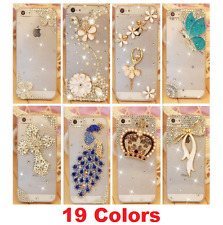 Crystal Rhinestone Beads Phone Case Shell Cover iPhone 4 4S 5 5S SE 6 6S 7 Plus