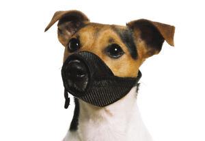 Ancol Soft Mesh Dog Muzzle Comfortable Breathable Nylon Strong Reliable Muzzle