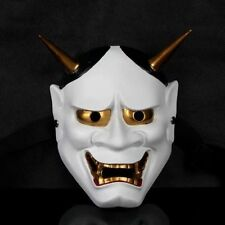 Vintage Japanese Buddhist Evil Oni Noh Hannya Mask Halloween Horror Mask 057