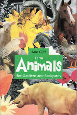 FARM ANIMALS for Gardens and Backyards Ann Cliff **GOOD COPY**