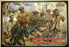STRELETS 1:72 SOLDATINI RUSSI COSSAKS MARINA E FANTERIA ART 0027