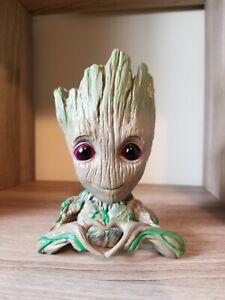 Baby Groot Heart Flowerpot Treeman Succulent Planter Flower Pot Guardians Galaxy