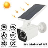 LED Solar Powered PIR Motion Sensor Wall Security 8 Lights Garden Outdoor Lamp