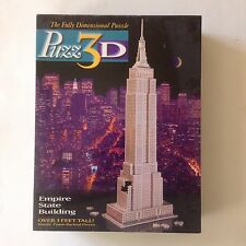 Puzz 3D Jig Saw Puzzle of The Empire State Building 902 Pieces Milton Bradley