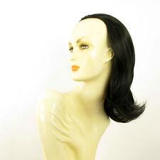 DT Half wig HairPiece extensions black 15.7  REF :18/1b