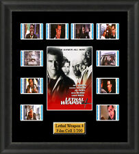 Lethal Weapon 4 (1998) Film Cell Memorabilia FilmCells Movie Cell Presentation