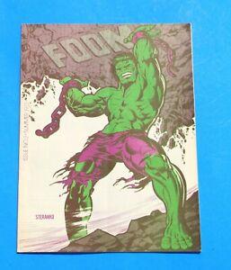 FOOM #2 * 1st Marvel Wolverine * Pre-Dates Incredible Hulk #181 * 6.0 Fine