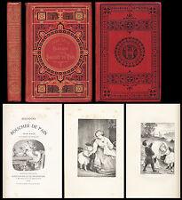 Histoire d'une Bouchée de Pain Collection HETZEL Engel Rel. par Jean Macé 1880