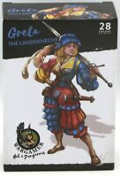 Wargamer HD-28-37 Greta the Landsknecht [28mm] (Hot & Dangerous) Female Warrior