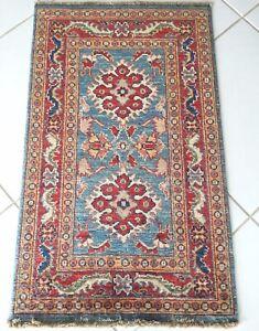 Ziegler Teppich Handgeknüpft Orient Blau Rot Oriental Rug Carpet Tapes Alfombr'a
