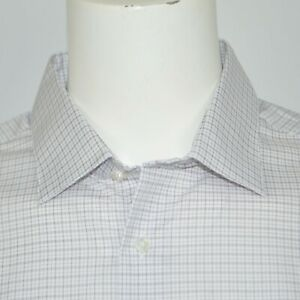 NWT CALVIN KLEIN Steel Regular Fit Stretch Non Iron Dress Shirt 17.5 36/37 XL