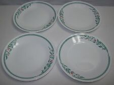 Lot of 4 Corelle Rose Marie Dessert Plates  - Free Shipping