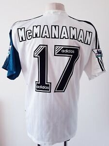 Liverpool 1995 - 1996 Away football Reebok shirt #17 McManaman