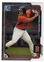 2015 Bowman Baseball Chrome Prospects #BCP34 Rafael Devers Boston Red Sox