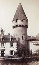 Cluny Tour Fabri Saône-et-Loire cliché albuminé CIRCA 1875 Anonyme France Tower