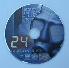 '24' TV show - SEASON 6 - DISC 5 REPLACEMENT DVD DISC ONLY