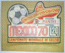 Messico RARO 70 (1970) Coppa del Mondo Panini Sticker pacchetto bustina L.20 (2)