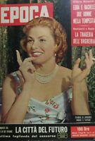 EPOCA N.404 1958 INGRID BERGMAN EDDA CIANO RACHELE MUSSOLINI
