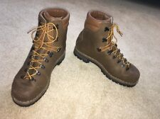 ALICO NEW GUIDE HIKING/MOUNTAINEERING BOOTS MENS 11W VIBRAM SOLE MADE IN ITALY