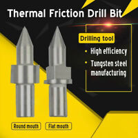 Thermal Friction Hot Melt Drill Bit Round/Flat Type Durable For Metal Processing