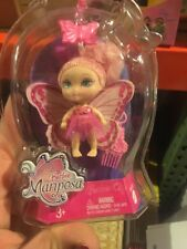 New 2007 Barbie Mariposa Flutterpixies Pink  Mini Doll Clip and Go