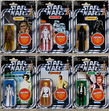 """HASBRO STAR WARS RETRO COLLECTION (WAVE 1) 3.75"""" INCH (SET OF 6) Action Figure"""